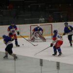 V úvodním mistrovském zápase hokejisté Náchoda po solidním začátku vderby srivalem zNového Města n/M. nakonec na body nedosáhli